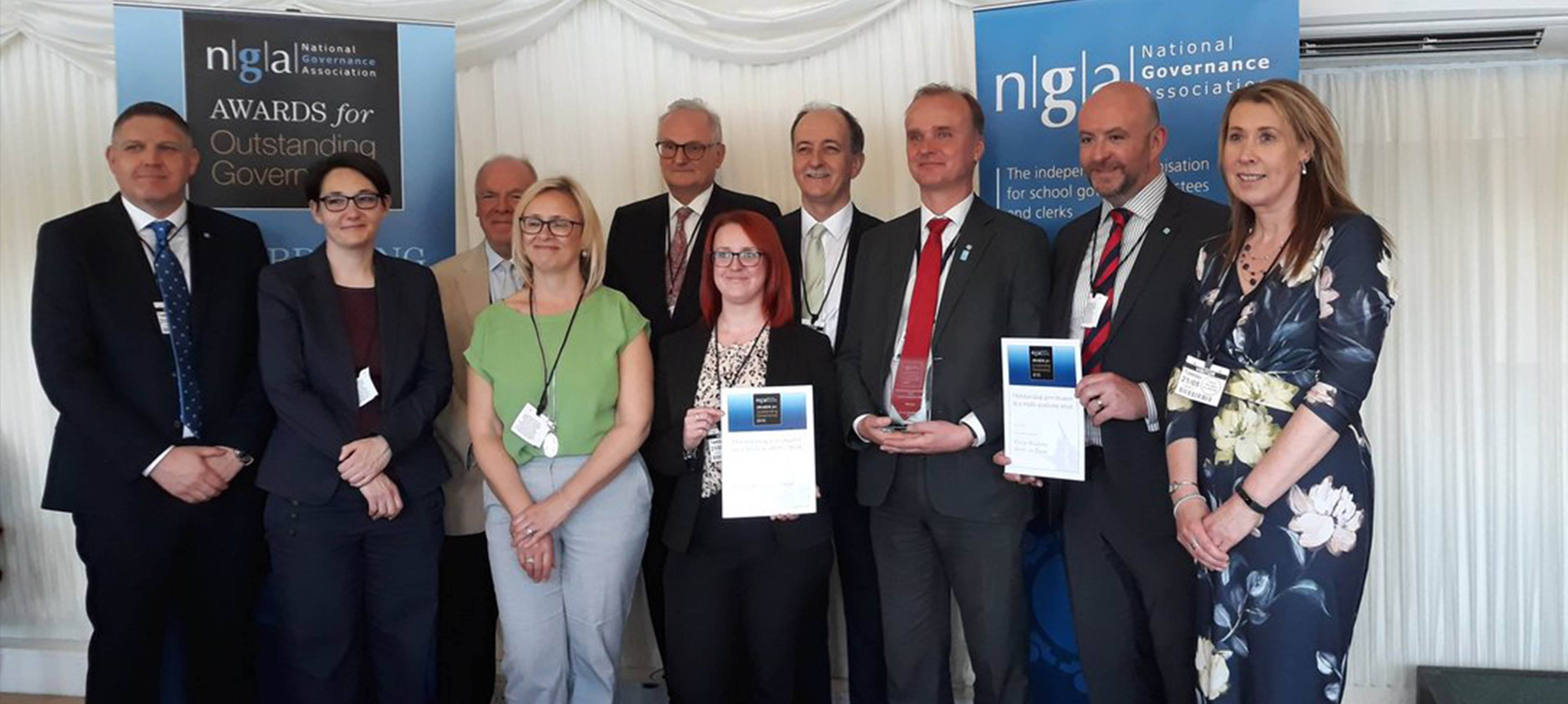 Co-op Academies Trust governance recognised with national award