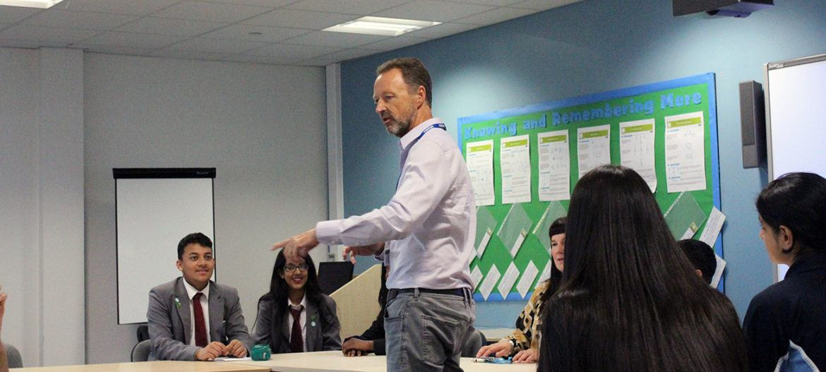 Steve Murrells visits two of our Bradford academies