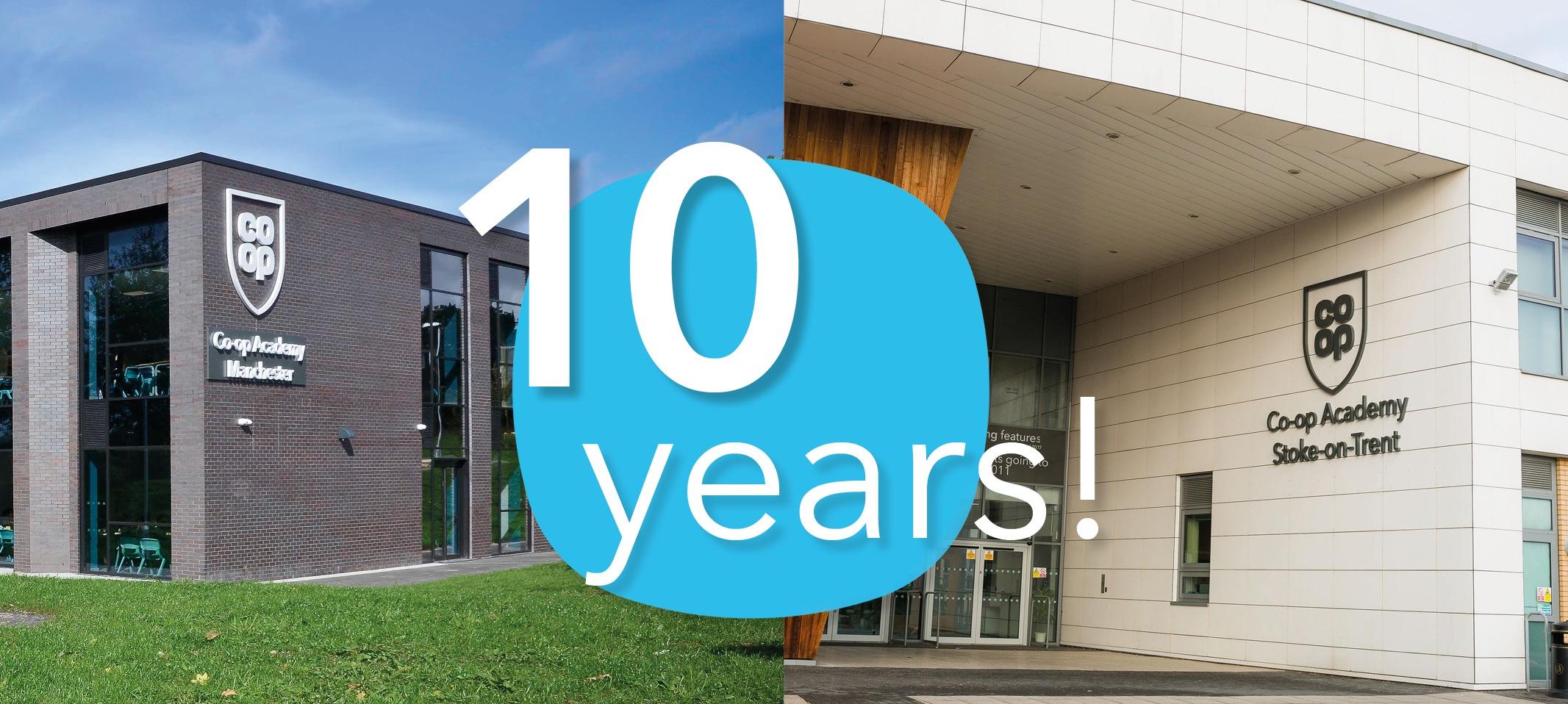10 Years of Co-op Academies
