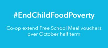 Co-op extends Free School Meals scheme over half term